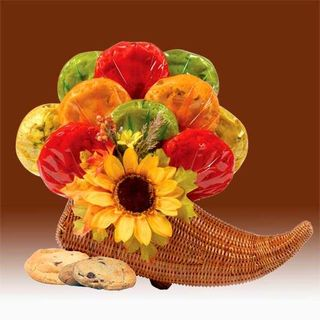 Fall Cornucopia Of Cookies Bouquet