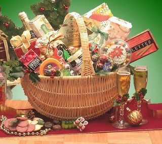Home for the Holidays Holiday Gift Basket
