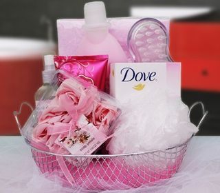 Scent of A Woman Spa Gift Basket