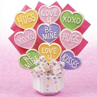 Valentine Conversation Hearts Bouquet