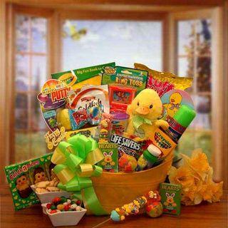 Easter Sunshine Duckling Gift Pail