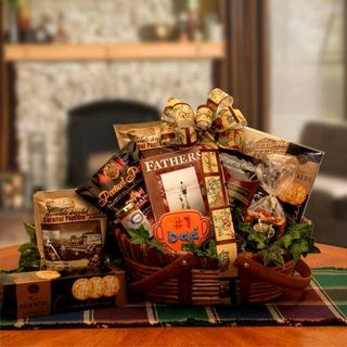 Greatest Dad Fathers gift basket