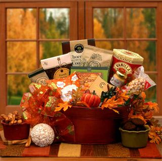 Tastes of Fall Gift Basket