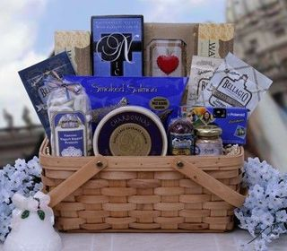 Special Wishes Wedding Gift Basket