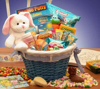 Easter Fun Gift Basket