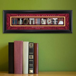 Collegiate Framed Architecture Print