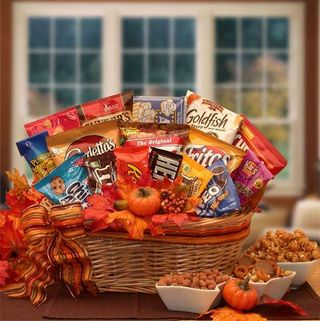 Fall Snack Attack Gift Basket