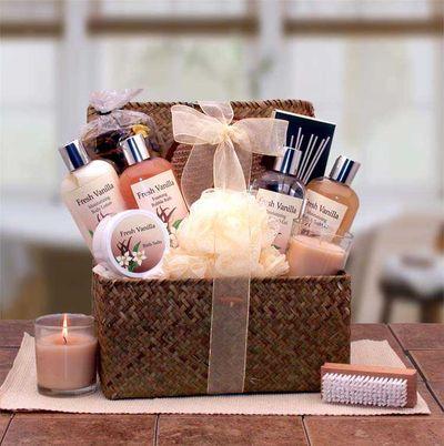 Blissful Relaxation Vanilla Gift Set