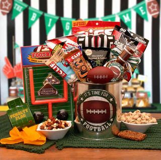 Football Time Gift Pail