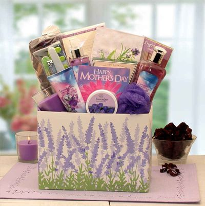 Mothers Day Moments of Relaxation Lavender Spa Gift