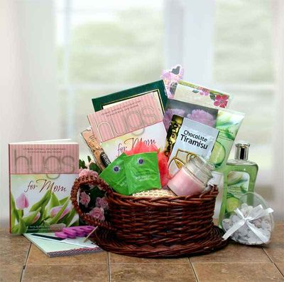 Mom Deserves a Hug Gift Basket